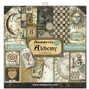 Stamperia - Double-Sided 12 x 12 Inch Paper Pack - Alchemy